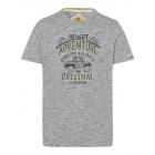 Pour des hommes T-Shirt Aventure, mélange gris, as