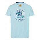 Pour des hommes T-Shirt , bleu clair, tailles asso