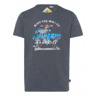Men's T-Shirt , anthracite, assorted sizes