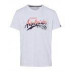signori T-Shirt Adelaide, snow melange, assortita