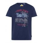 Uomini T-Shirt RH Laguna Beach, blu scuro, dimensi