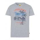 Uomini T-Shirt RH Laguna Beach, grigio melange, so