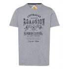 Uomini T-Shirt Abbigliamento Superior DX, grigio,