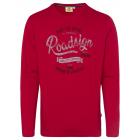 Camicia da uomo a manica lunga Roadsign , rosso, d