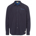 Men's long sleeve shirt Riders Club, anthracit