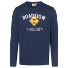 Men's long sleeve shirt logo Roadsign , L, mar