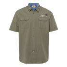 Men's short sleeve shirt Wildlife, khaki, asso