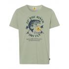 Men's T-Shirt Up the River, light green, assor