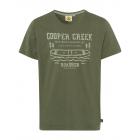 Herren T-Shirt Cooper Creek, khaki, sortierte Größ