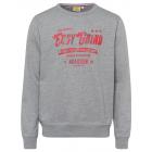 Herren Sweatshirt Easy Grind, grau melange, sortie