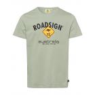 Herren Logo T-Shirt Raute, 2XL, hellgrün