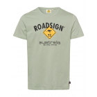 Herren Logo T-Shirt Raute, M, hellgrün