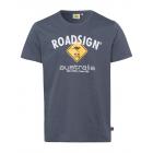 Herren Logo T-Shirt Raute, 2XL, anthrazit