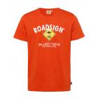 Herren Logo T-Shirt Raute, 3XL, orange
