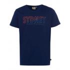 Men logo T-Shirt Sydney, 4XL, marine