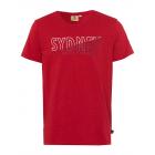 Men logo T-Shirt Sydney, M, red