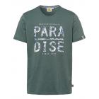 Herren T-Shirt Paradise, grün, sortierte Größen