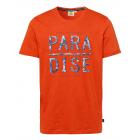 Herren T-Shirt Paradise, orange, sortierte Größen