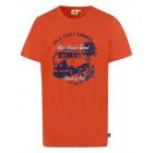 Herren T-Shirt Gold Coast, orange, sortierte Größe