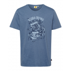 Herren T-Shirt Scuba Diving, jeansblau, sortierte