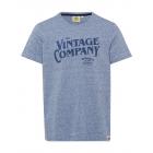 Herren T-Shirt Vintage Company, marine melange, so