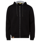 Men's sweat jacket hoodie, 3XL, black
