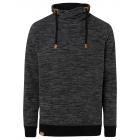 Men's fleece pullover Tube, M, black