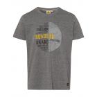 Men's T-ShirtRoadsign Freedom, gray long, sort
