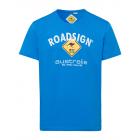 Herren T-Shirt Roadsign, M, royal