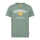 Herren T-Shirt Roadsign, M, khaki