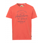 messieurs T-Shirt Marque australienne, 4XL, orange