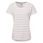 Damen T-Shirt striped summer, S, flieder-grau