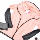 Abrigo, sudadera, chaqueta de punto, melocotón