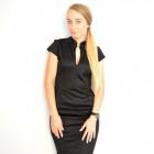 Dress, feminine, fitted, elegant, black