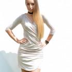 Dress, light, airy, feminine, beige