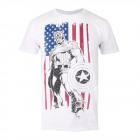 Wonder-wonder T-shirt KAPITEIN VLAG