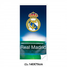 Toalla de playa(Microfibra 70x140cm)REAL MADRID