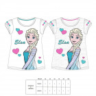 Girl T-shirt frozen