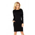 Golf dress - thick material - Black