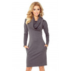 Golf dress - thick material - gray graphite