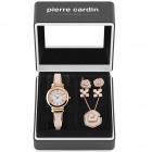 Pierre Cardin Uhr PCX6005L255 Geschenk Set Schmuck