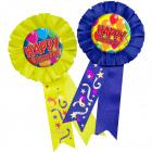 Rosette balloon Happy Birthday - 1 piece