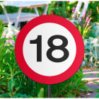18 Years Road Sign Garden Sign