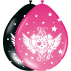 Balloons Pink Pirate Girl - 8 pieces