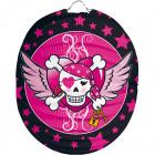 Lampion Pink Pirate Girl - Sphere 22cm