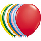 Globos metálicos multicolores - 30 cm - 100 piezas