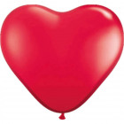 Heart-shaped Balloons Red - 8 pieces