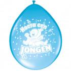 Született Balloons - Hurrá egy fiú - 8 db