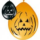 Halloween Pumpkin Balloons 30cm - 8 pieces