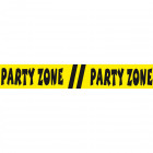 Afzetlint Party Zone - 15 meter
